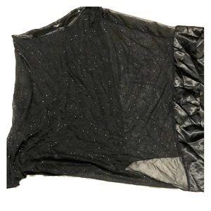 Ruby Rox Black Glittery Dress